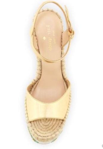 kate DALLAS CACTUS PLATFORM GOLD SZ 7