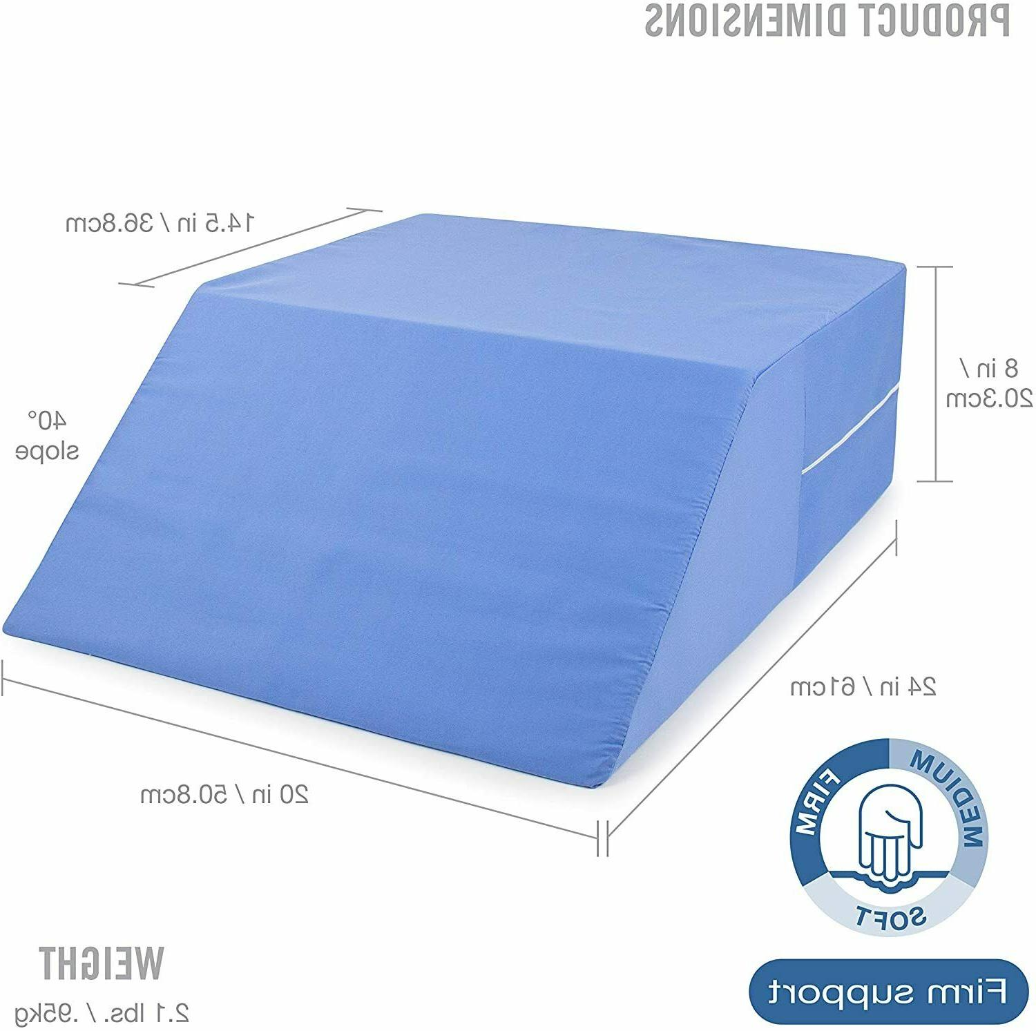 ortho bed wedge elevated leg pillow supportive