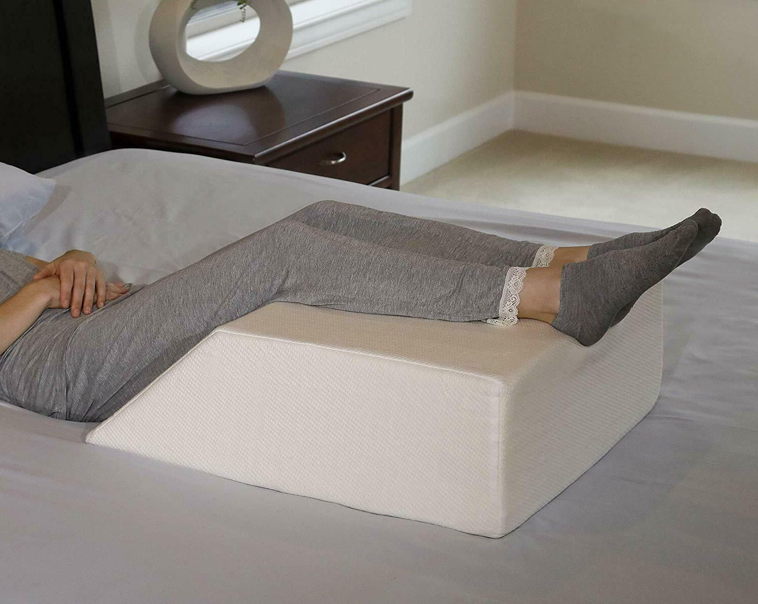 ortho bed wedge pillow w removable cover