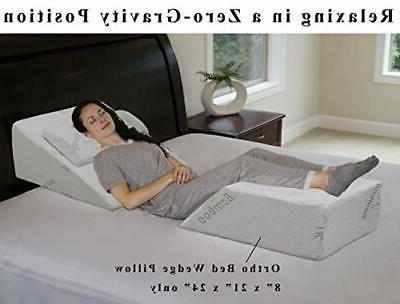 """InteVision Ortho Pillow with High Quality, Cover (8"""" x"""