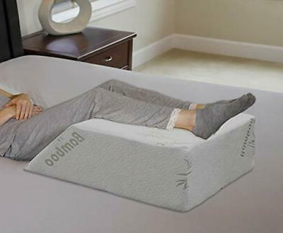 intevision ortho bed wedge pillow with a