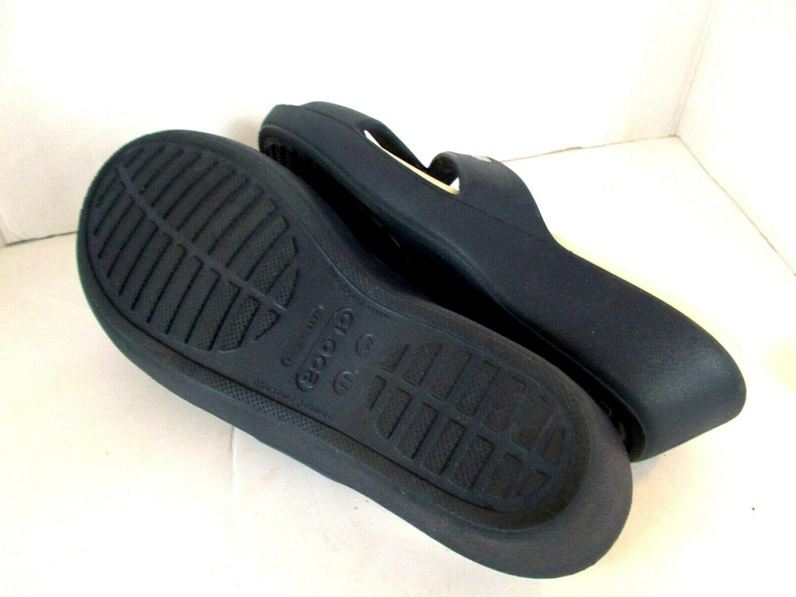 Crocs II Two Slide Wedge Sandals, Size 11