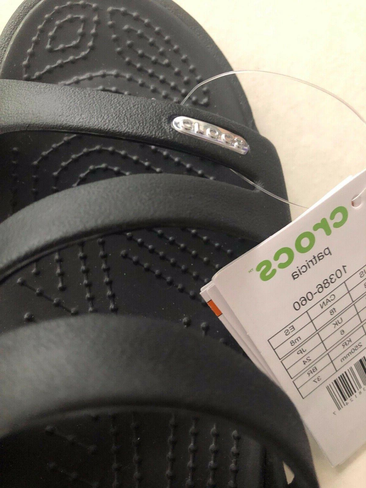 Crocs Black new with tags.