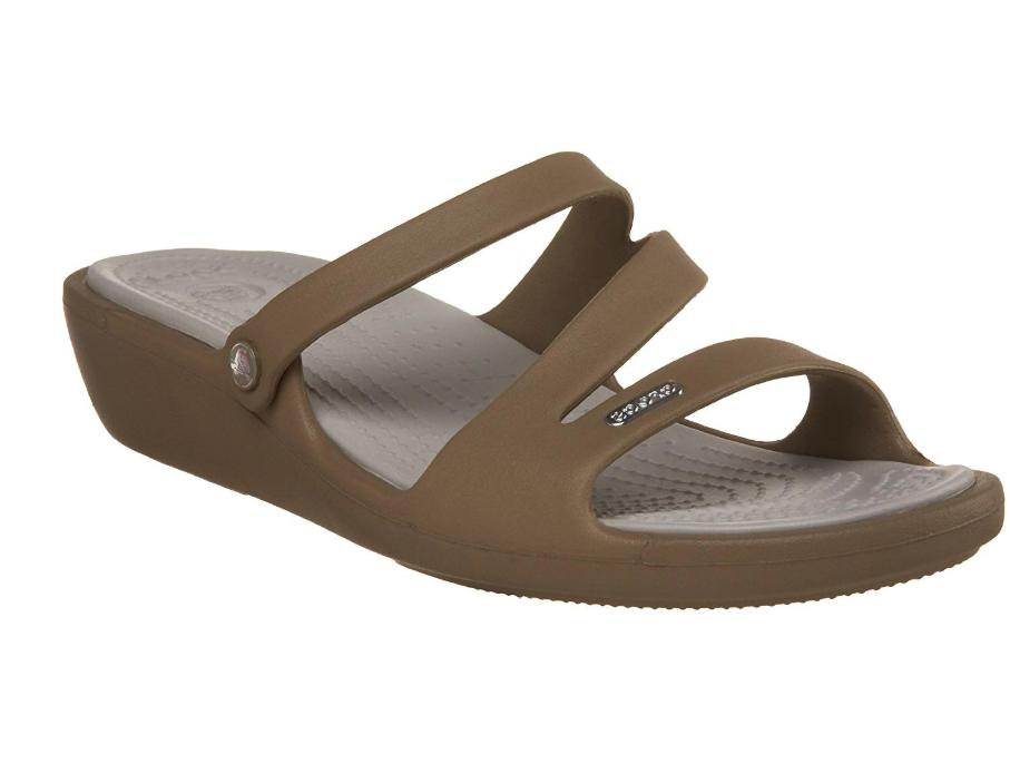 patricia wedge slide sandals shoes womens size