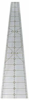 "Phillips 10 DEGREE 25"" WEDGE Quilt Ruler 36 Wedges = 50"" Cir"