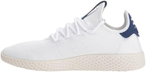 adidas Originals PW Tennis HU Shoe, FTWR, 8 M