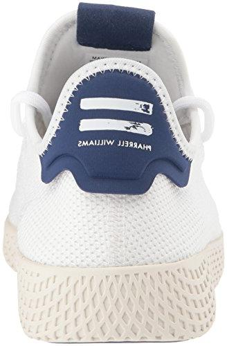 adidas Tennis HU Running Shoe, White, 8 US