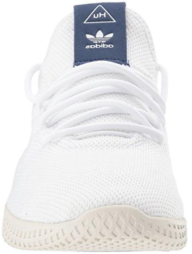adidas Tennis HU Shoe, White, 8 US