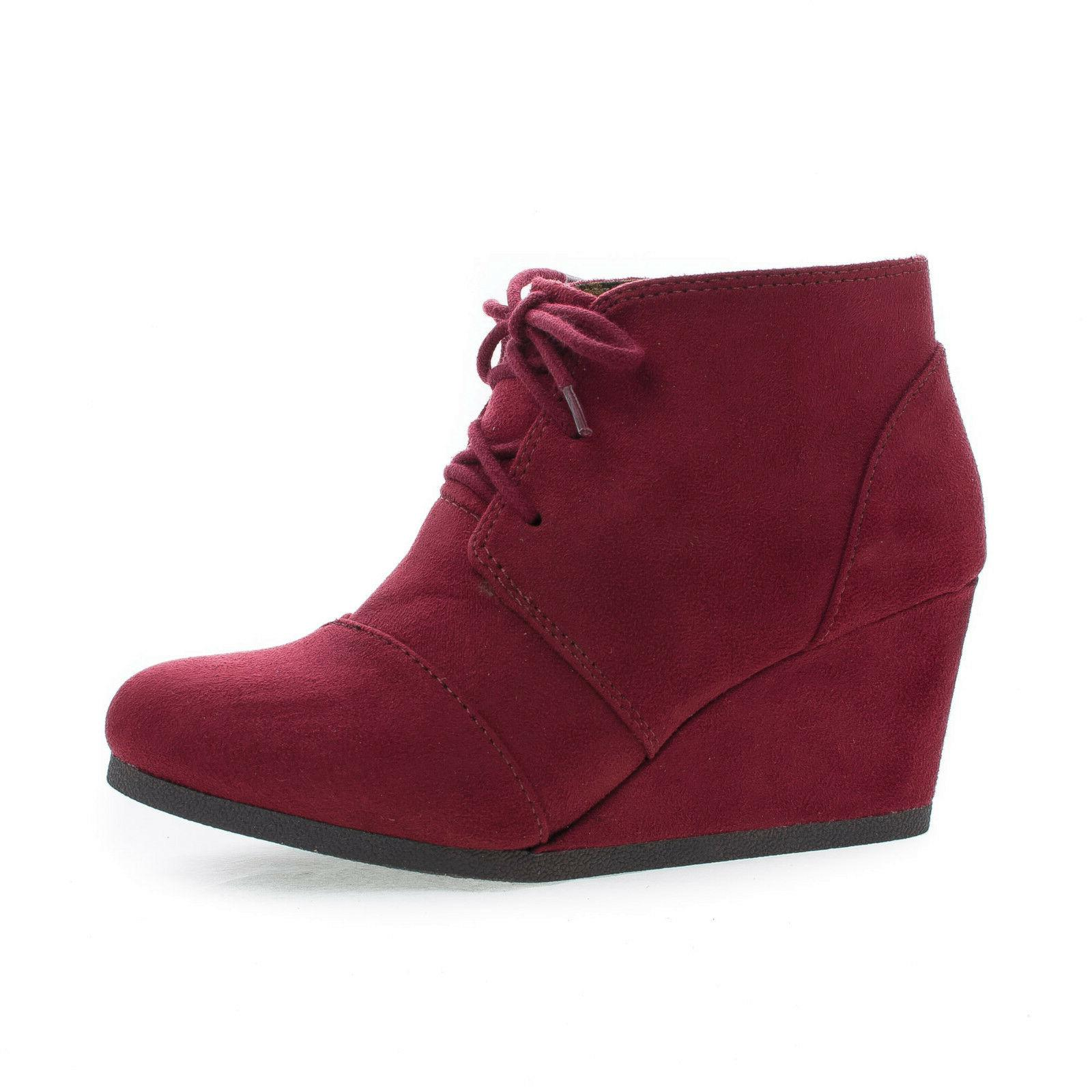 Rex Up Ankle High Wedge Women's
