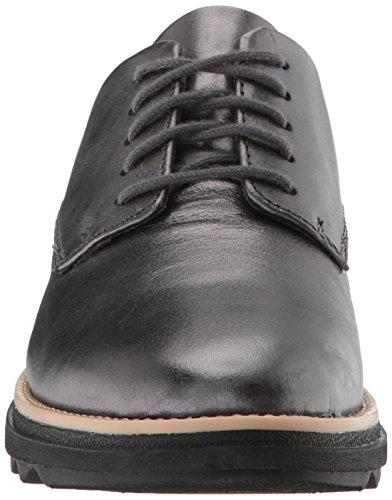 CLARKS Oxford, Gunmetal Metallic 070 M