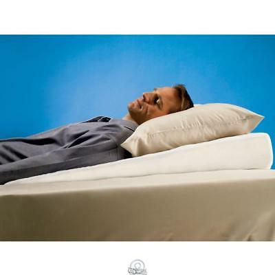 sleep improving pillow wedge gently sloped bed