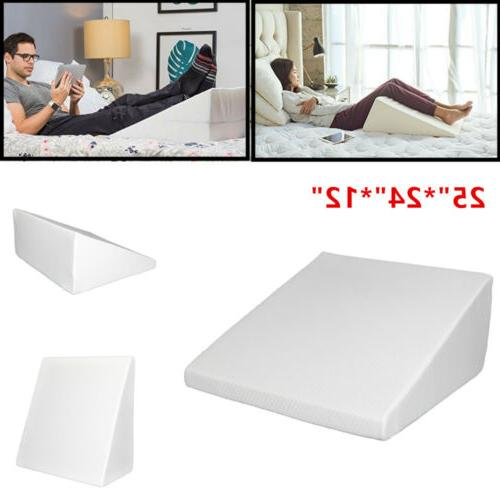 """12"""" Wedge Pillow for Sleeping Memory"""