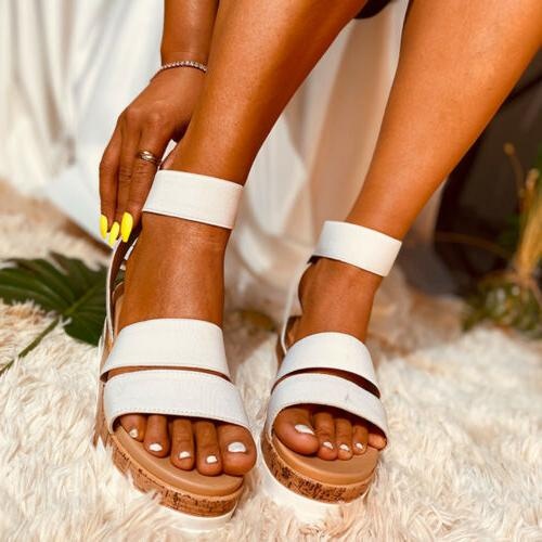 Summer Ankle Flatform Wedges
