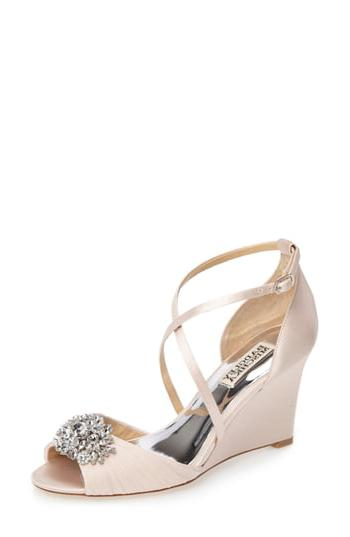 tacey embellished strappy wedge sandal