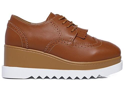 DADAWEN Square-Toe Oxford US Size