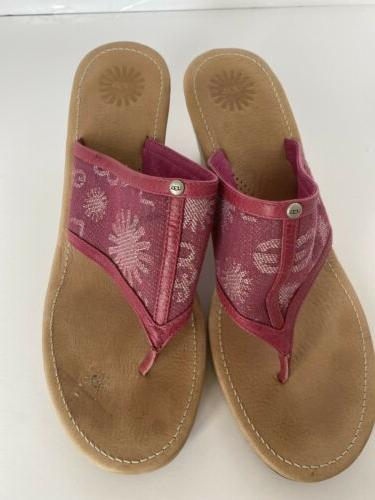Ugg Size 10 Pink Shoes