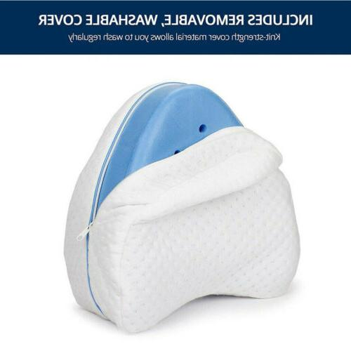 US Contour Shape Memory Foam Pillow for Back Legs Support Wedge