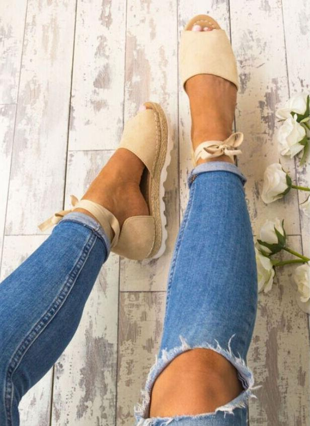 US WOMEN LOW SUMMER SHOES