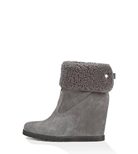 Women's UGG Australia Water Wedge Size 12 M Grey
