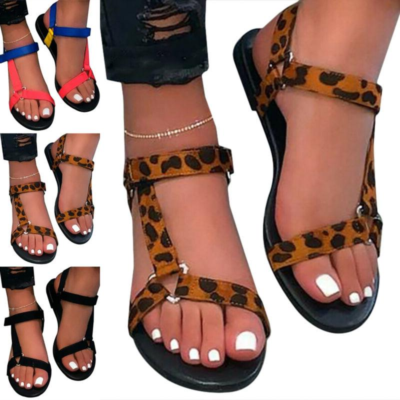Womens Slide Sandals Strap Comfy