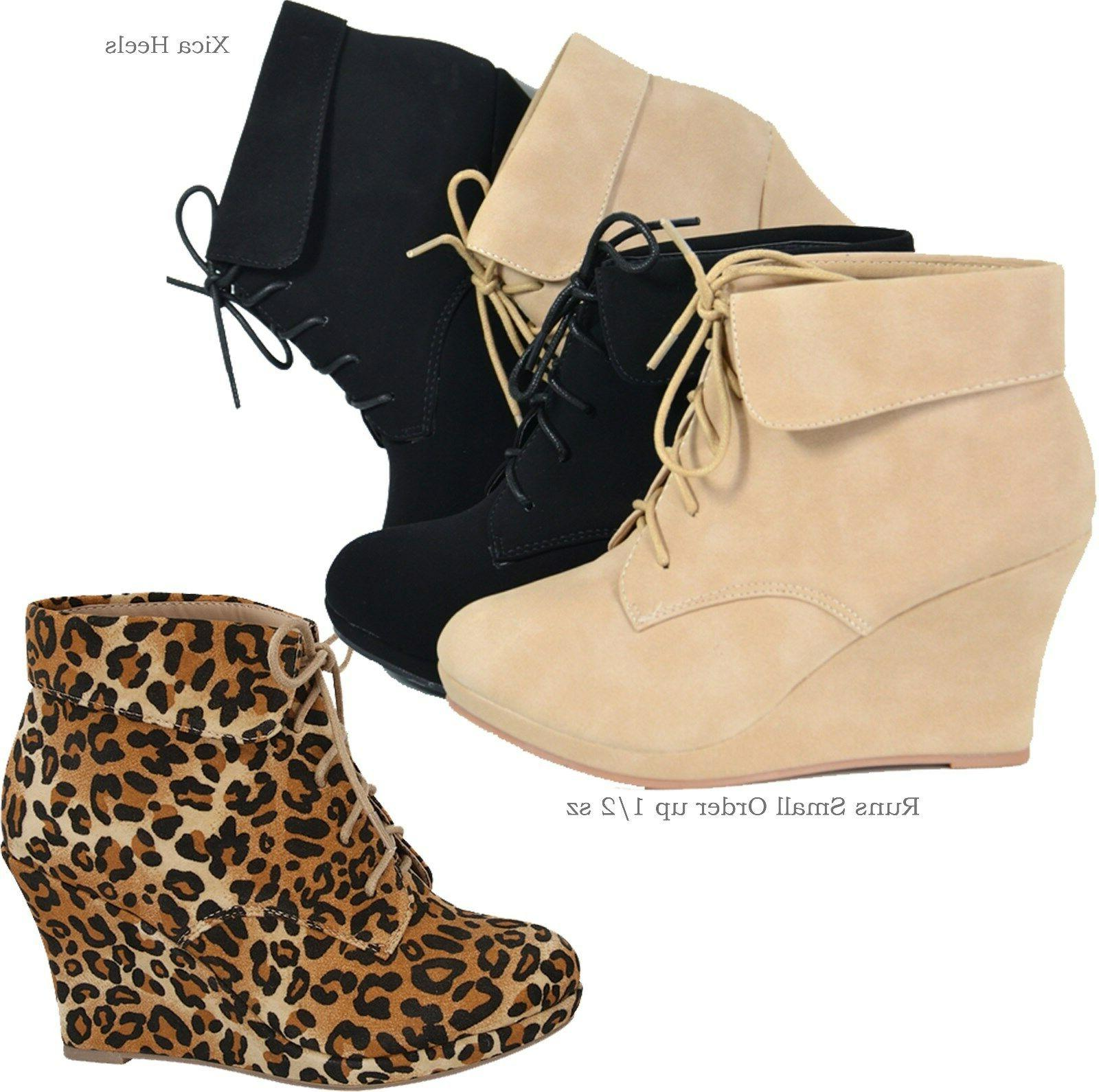 Women's Ankle Up Fashion