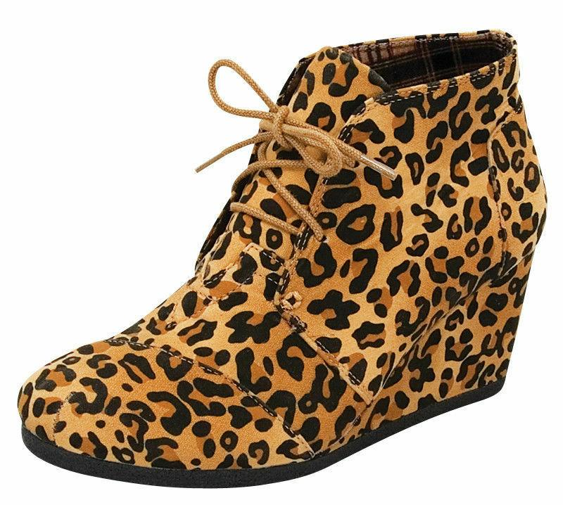 Women's Booties Wedge Shoes Size - NEW