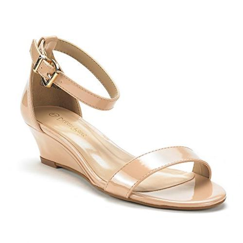 women s ingrid blush pat ankle strap