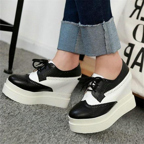 Women's Lace Ankle Sneakers Punk