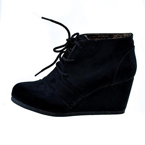 rex lace up oxford ankle bootie char