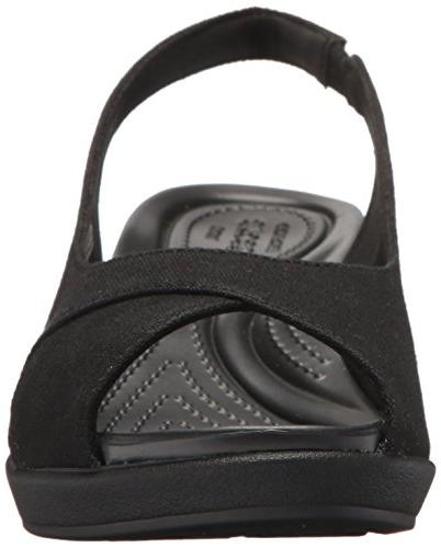 Crocs Ann Slingback Wedge 9 M