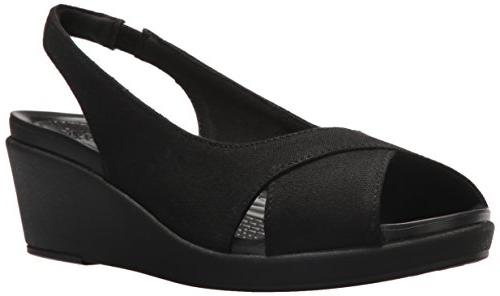 women s leigh ann slingback wedge sandal