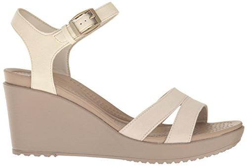crocs Ankle W Wedge Sandal, US