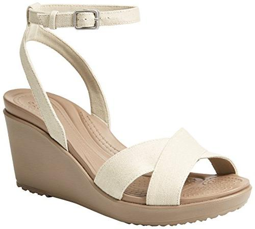 women s leigh ii ankle strap wedge