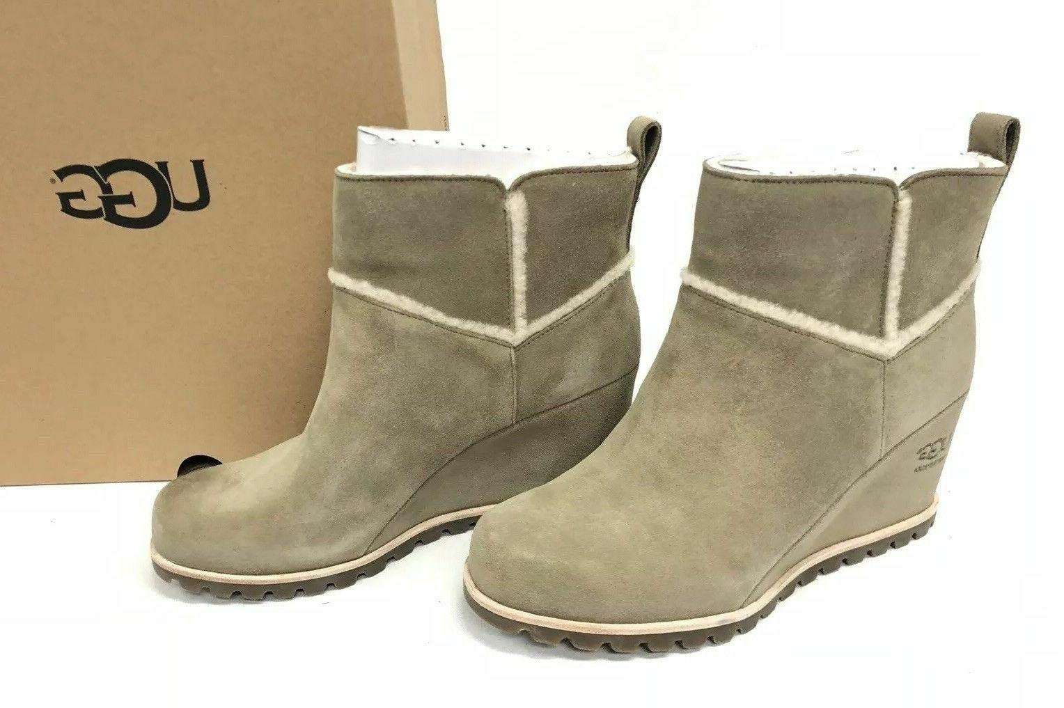 women s marte waterproof wedge booties antilope