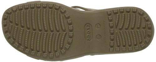crocs Women's Twist Wedge Sandal, M US