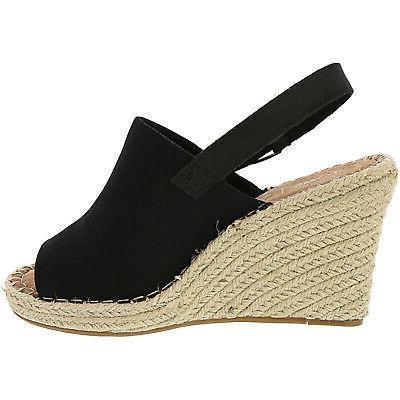 Toms Women's Ankle-High Canvas Wedged