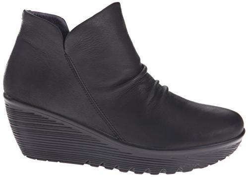 Skechers Women's Parallel-Universe Boot,Black,11 M