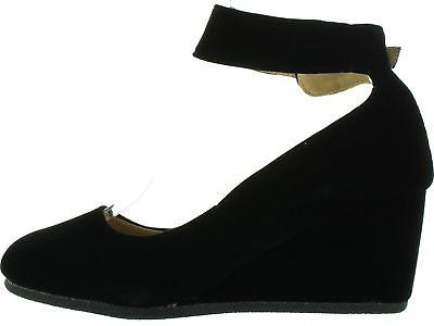 Forever Women's Ankle Suede Wedge