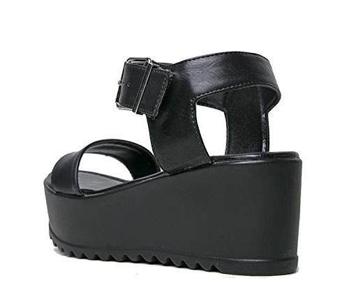 Women's - Fashion Chunky Ankle Strap Shoe Surf by J