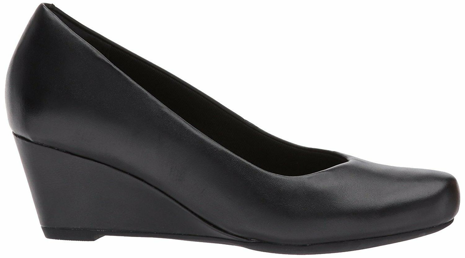 Women's Shoes Clarks Tulip Closed Wedge Pump 30117
