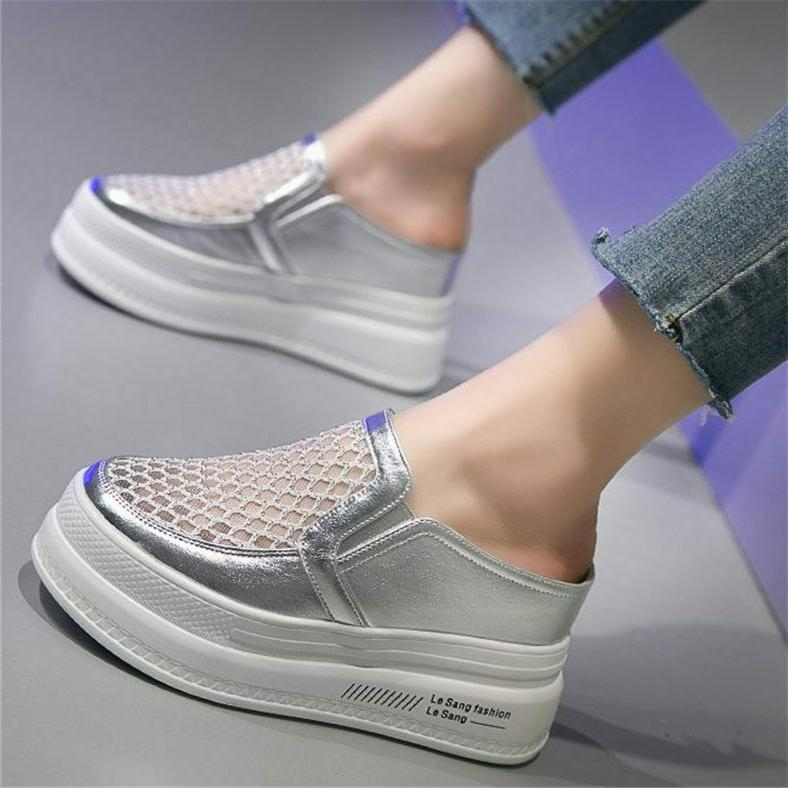women s summer fashion sneaker platform wedge