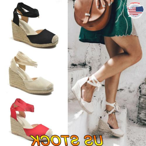 women sandals summer wedge platform heel slingback