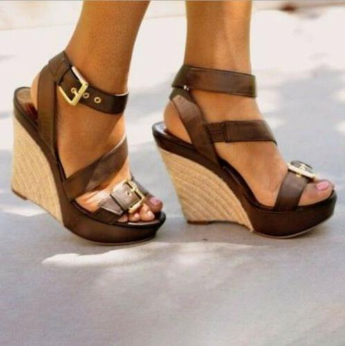 womens cross ankle strap buckle sandals ladies