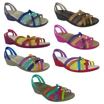 womens huarache mini wedge sandal shoes