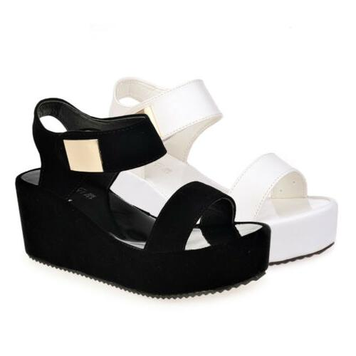 Women's Summer Sandals Toe Chunky US