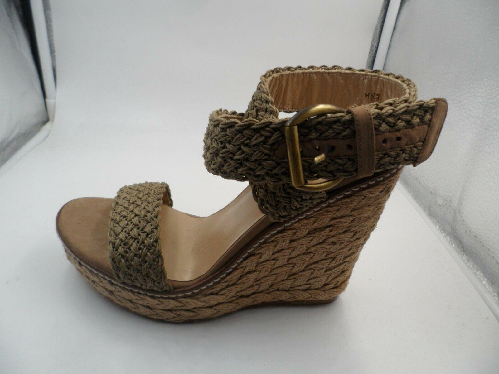 Alex Crochet Wedge Ankle 6.5 M