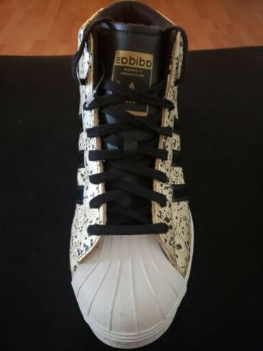 ADIDAS Superstar Wedge-up leather size 8.5