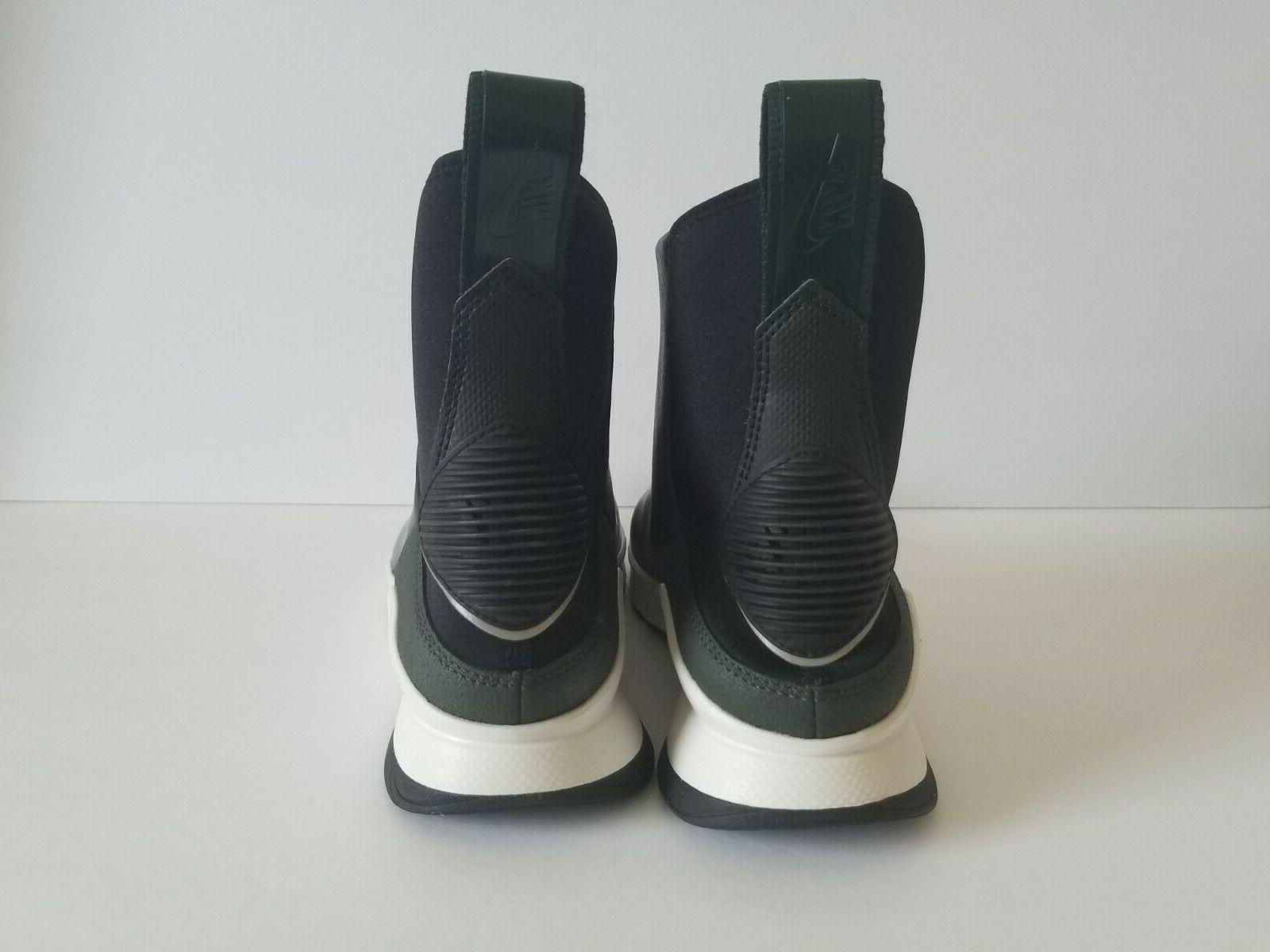 Nike Womens Rivah Premium Leather Waterproof Wedge Boots Size 6.5