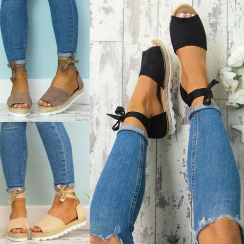 Strappy Espadrilles
