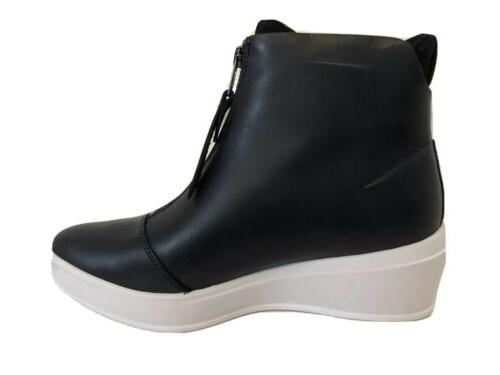 womens uas elevated wedge mid boot leather
